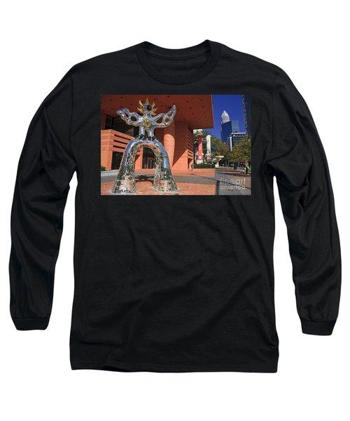 The Firebird At The Bechtler Museum In Charlotte Long Sleeve T-Shirt