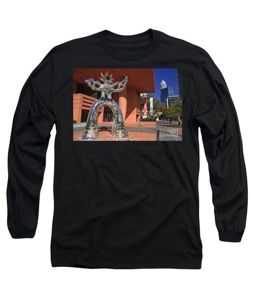 The Firebird At The Bechtler Museum In Charlotte Long Sleeve T-Shirt