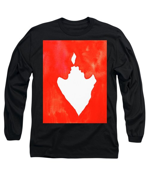 The Flame Of Love Long Sleeve T-Shirt by Iryna Goodall