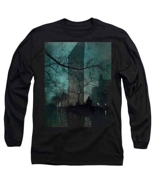 The Flatiron Building Long Sleeve T-Shirt