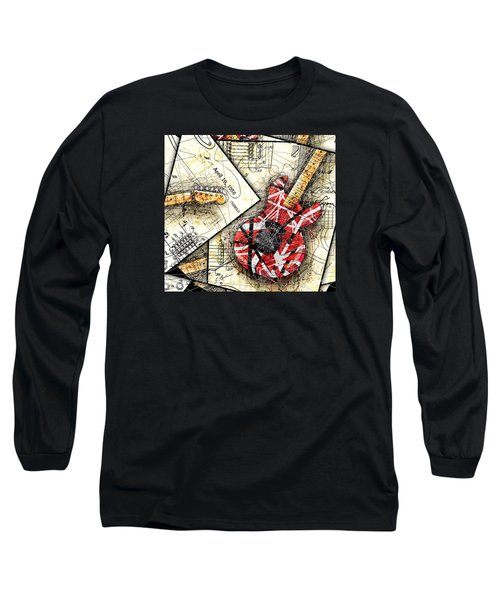 The Frankenstrat Long Sleeve T-Shirt by Gary Bodnar