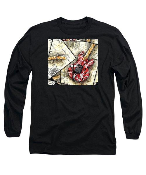 The Frankenstrat Long Sleeve T-Shirt