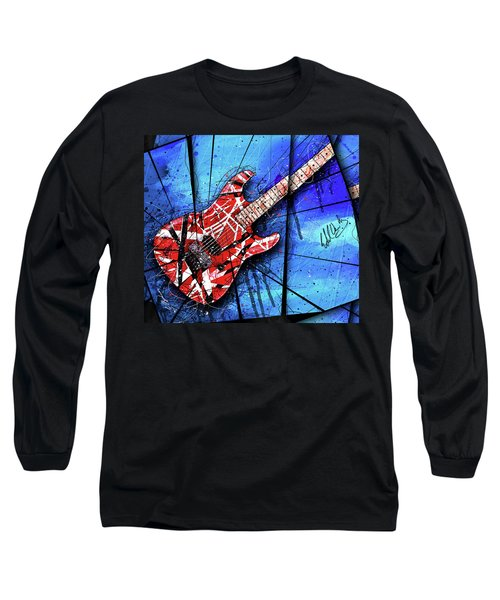 The Frankenstrat Vii Cropped Long Sleeve T-Shirt by Gary Bodnar