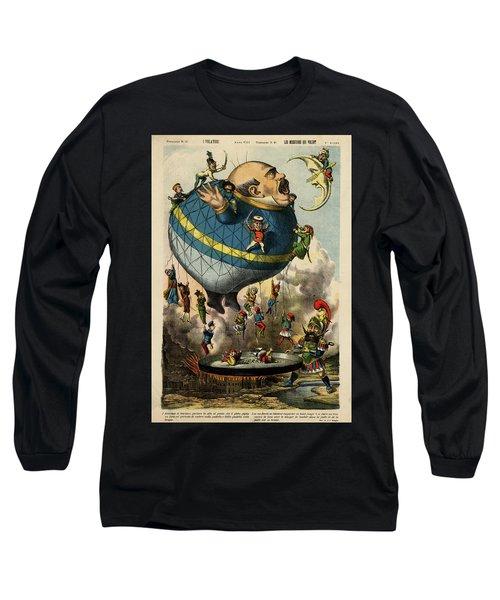 The Frying Pan Of War Long Sleeve T-Shirt