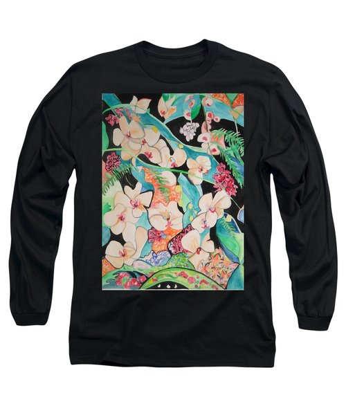 The Gallery Of Orchids 1 Long Sleeve T-Shirt