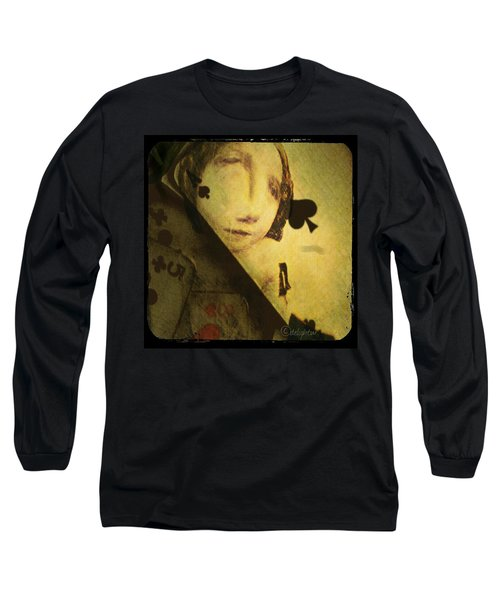 Long Sleeve T-Shirt featuring the digital art The Game by Delight Worthyn