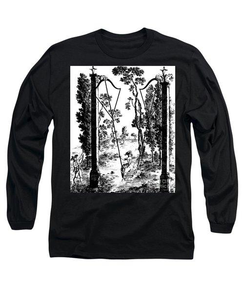 The Garden Swing At Rambouillet Long Sleeve T-Shirt