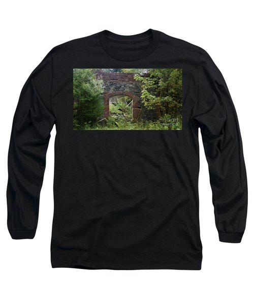 The Gate Into Nothingness Long Sleeve T-Shirt