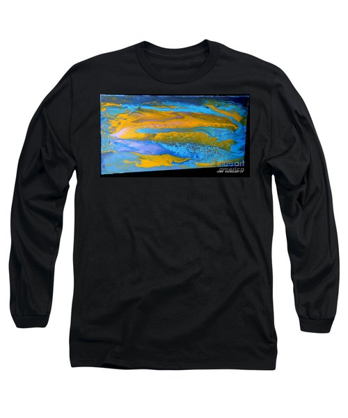 the GATOR in abstracr Long Sleeve T-Shirt