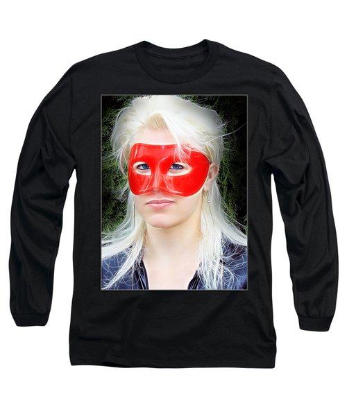 The Gaze Of A Heroine Long Sleeve T-Shirt