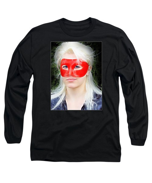 The Gaze Of A Heroine Long Sleeve T-Shirt