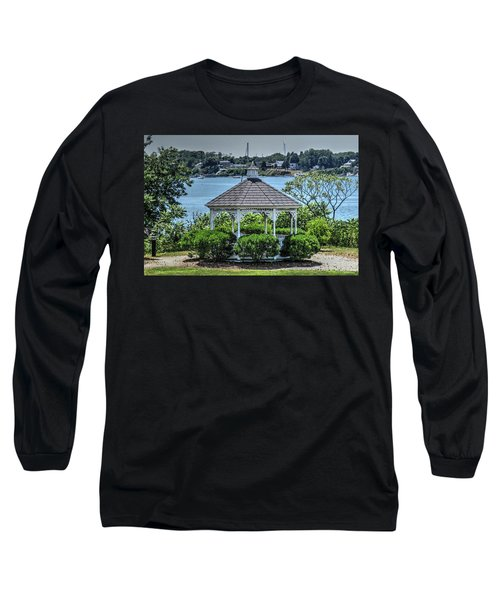 Long Sleeve T-Shirt featuring the photograph The Gazebo by Tom Prendergast