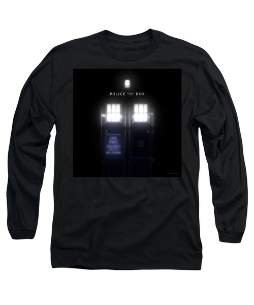 The Glass Police Box Long Sleeve T-Shirt