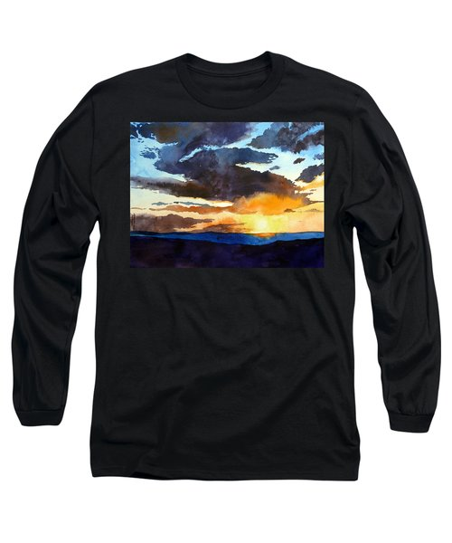 The Glory Of The Sunset Long Sleeve T-Shirt