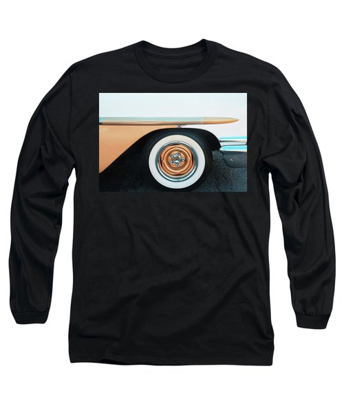 The Golden Age Of Auto Design Long Sleeve T-Shirt by Gary Slawsky