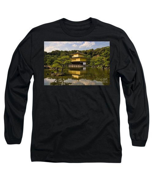 The Golden Pagoda In Kyoto Japan Long Sleeve T-Shirt