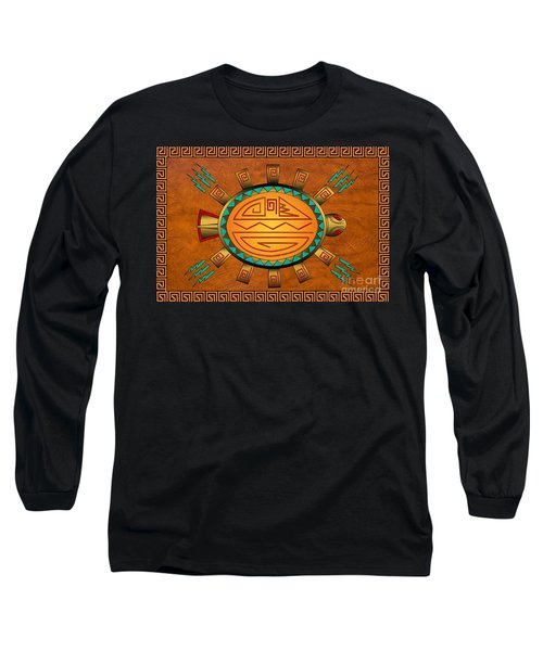 The Golden Spirit Turtle Long Sleeve T-Shirt