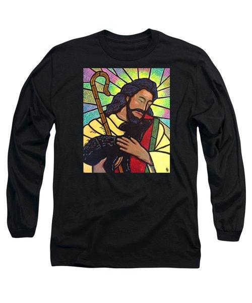 The Good Shepherd - Practice Painting Two Long Sleeve T-Shirt by Jim Harris