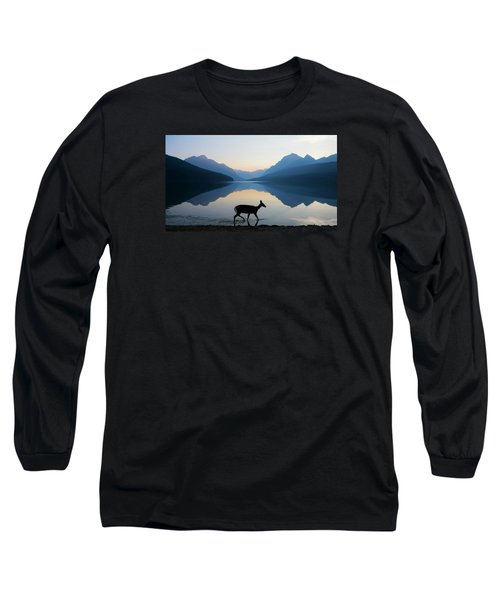 The Grace Of Wild Things Long Sleeve T-Shirt by Dustin  LeFevre