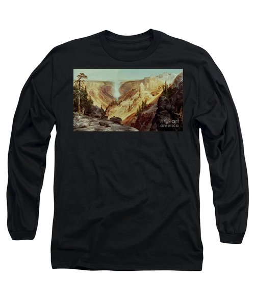 The Grand Canyon Of The Yellowstone Long Sleeve T-Shirt