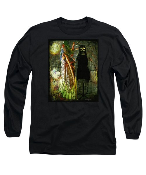 Long Sleeve T-Shirt featuring the digital art The Great Escape by Delight Worthyn