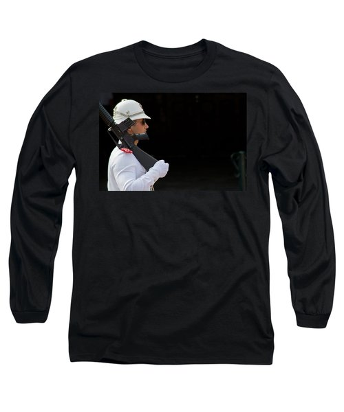Long Sleeve T-Shirt featuring the photograph The Guard by Keith Armstrong