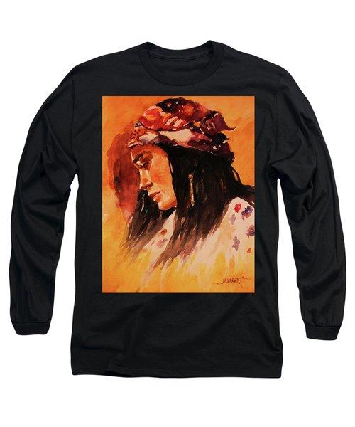 Gypsy Girl Long Sleeve T-Shirt