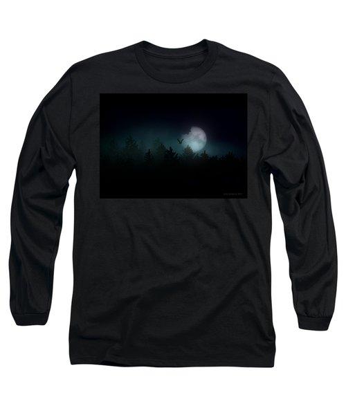 The Hallowed Moon Long Sleeve T-Shirt