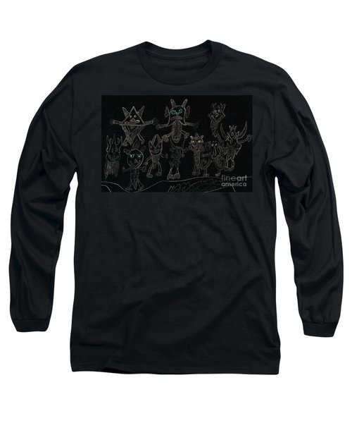 The Haunted Farmhouse Long Sleeve T-Shirt