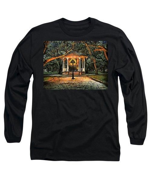 The Haunted Gazebo Long Sleeve T-Shirt