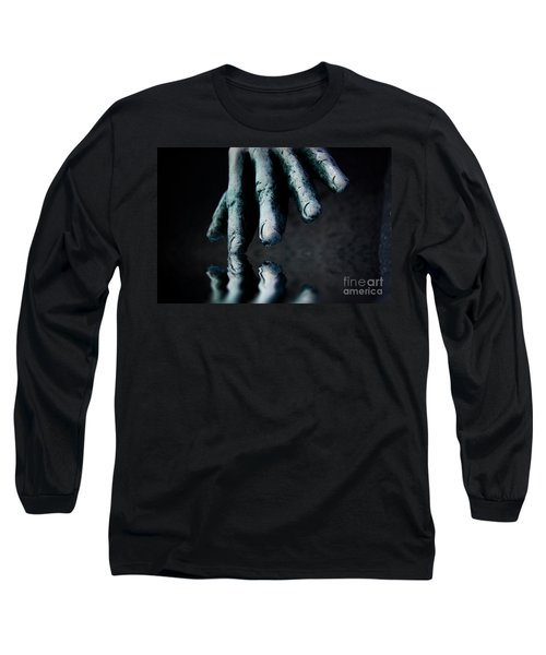 The Healing Touch Long Sleeve T-Shirt by Kym Clarke