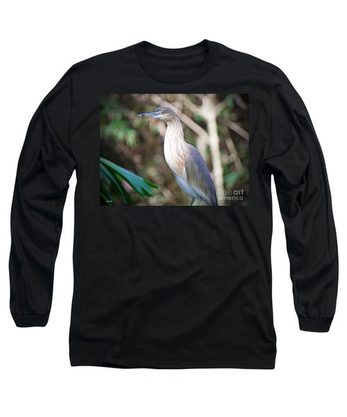 The Heron Long Sleeve T-Shirt by Judy Kay