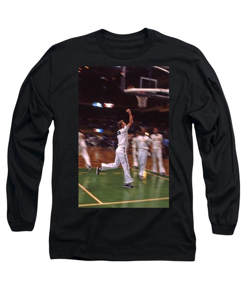 The Hick From French Lick Long Sleeve T-Shirt by Mike Martin