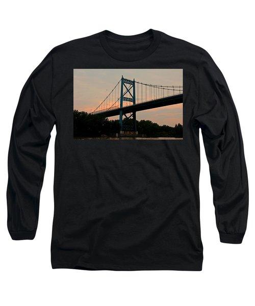 The High Level Aka Anthony Wayne Bridge I Long Sleeve T-Shirt