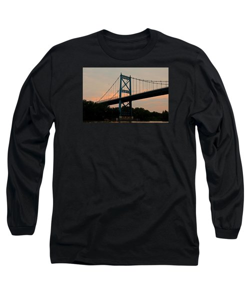 The High Level Aka Anthony Wayne Bridge I Long Sleeve T-Shirt