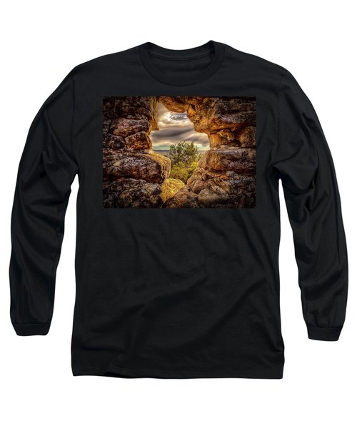 Long Sleeve T-Shirt featuring the photograph The Hole In The Wall by Chris Cousins