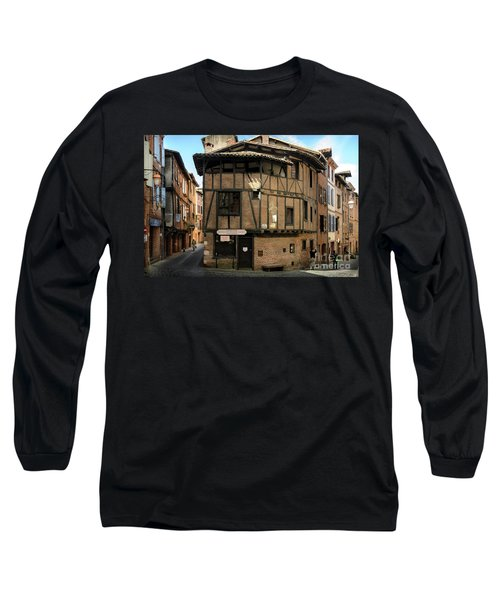 The House Of The Old Albi Long Sleeve T-Shirt by RicardMN Photography