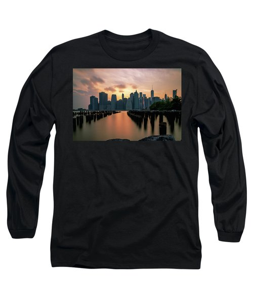 The Island Of Manhattan  Long Sleeve T-Shirt