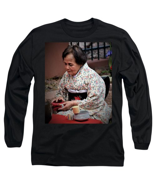 The Japanese Tea Ceremony Long Sleeve T-Shirt