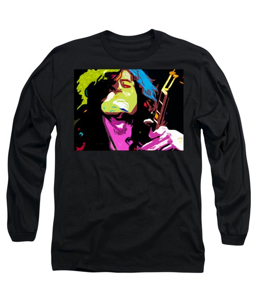 The Jimmy Page By Nixo Long Sleeve T-Shirt by Nicholas Nixo