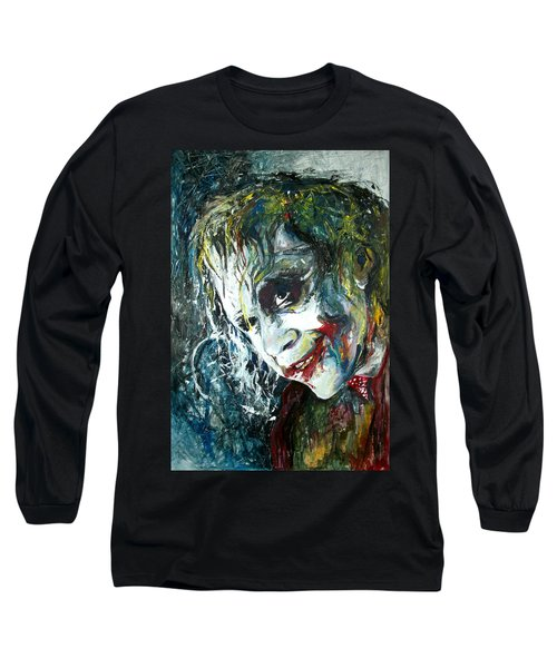 The Joker - Heath Ledger Long Sleeve T-Shirt