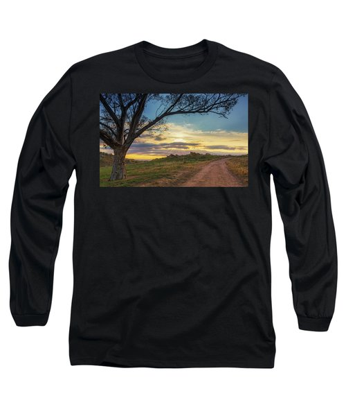 The Journey Home Long Sleeve T-Shirt by Tassanee Angiolillo