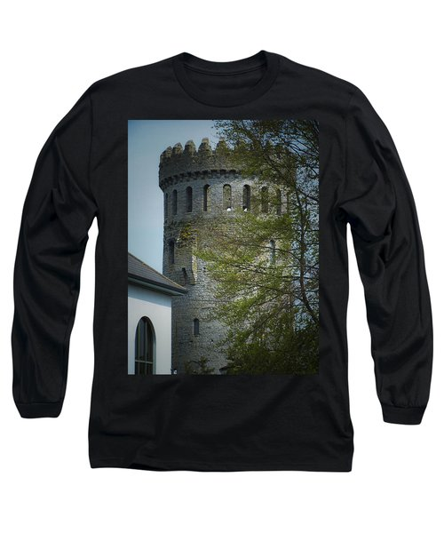 The Keep At Nenagh Castle Ireland Long Sleeve T-Shirt