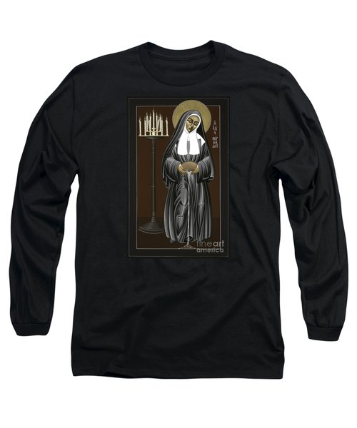 The Kenosis Of St Bernadette Of Lourdes 063 Long Sleeve T-Shirt
