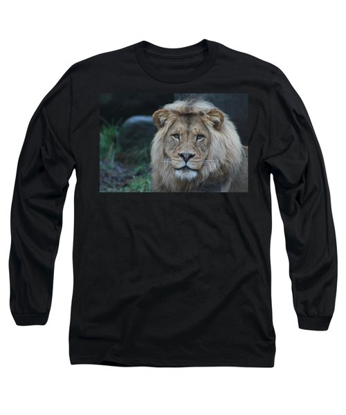 Long Sleeve T-Shirt featuring the photograph The King by Laddie Halupa