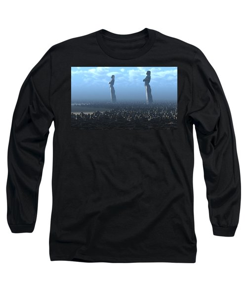 The Kings Await Morning Long Sleeve T-Shirt