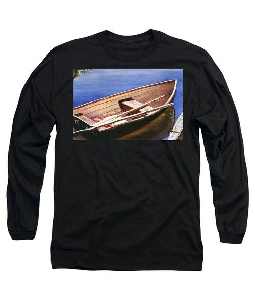 The Lake Boat Long Sleeve T-Shirt