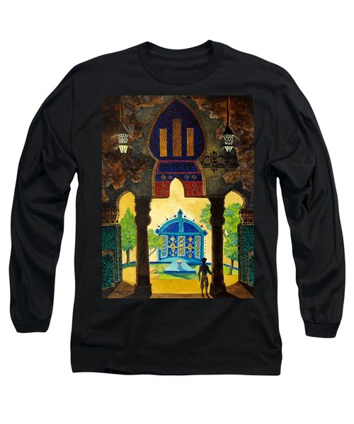 The Lamp's Garden Long Sleeve T-Shirt
