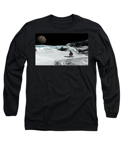 The Lander Ulysses On Europa Long Sleeve T-Shirt