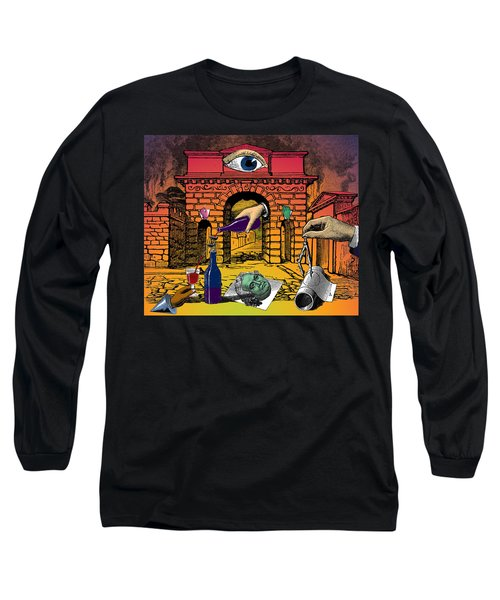 The Last Days Of Herculaneum Long Sleeve T-Shirt